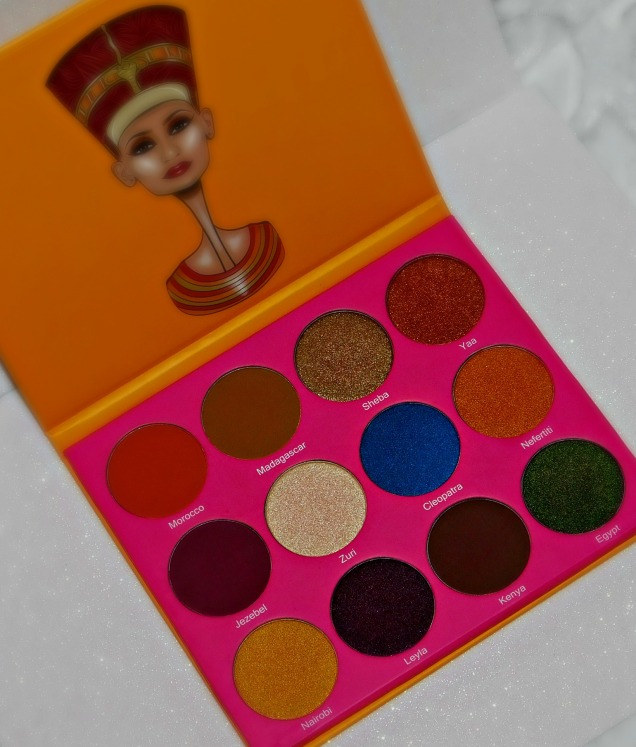 Juvia S Place Nubian 2 Eyeshadow Palette Review Amp Swatches Lynette Loves