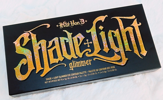 Kat Von D Shade Light Glimmer Eye Palette Review